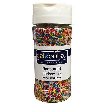 Celebakes Rainbow Mix Nonpareils