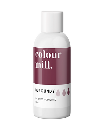Burgundy Colour Mill Oil Based Colouring, Burgundy Colour Mill, Colour Mill, Burgundy  food coloring, oil based chocolate