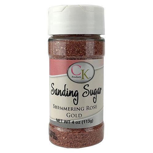 CK Products Shimmering Rose Gold Sanding Sugar