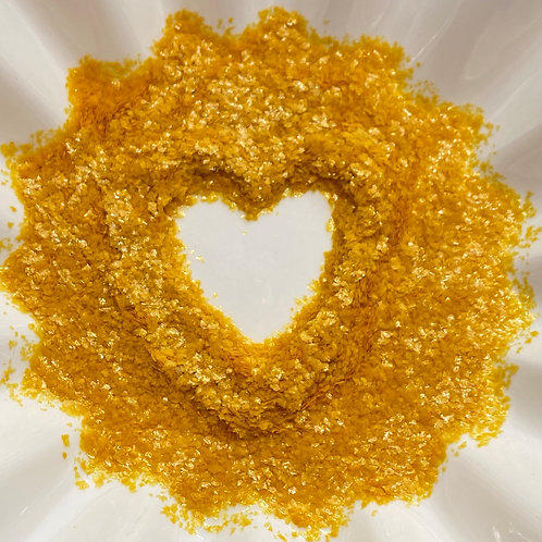 CK Products Gold EDIBLE Glitter Flakes, 1 oz.
