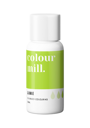 lime colour mill, lime colour mill oil based colouring, colour mill, lime colour mill 20ml, colour mill 20ml