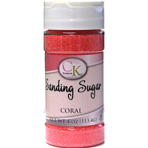 CK Products Coral Sanding Sugar