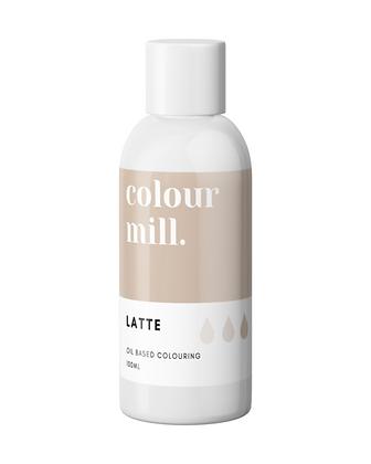 Latte Colour Mill Oil Based Colouring 100ml, Latte Colour Mill, Colour Mill, New Colour Mill, Colour Mill 100ml, Latte color