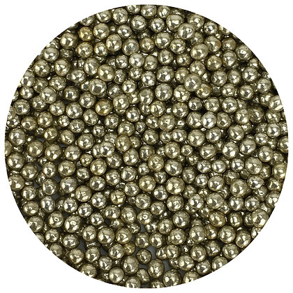 Celebakes Vintage Gold 3mm Dragees, 4 oz. (Decoration Only)