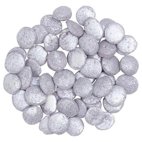DECOPAC Silver Confetti Quins 1.22 lbs.