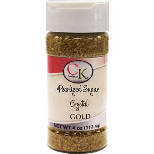CK Products Pearlied Gold Sugar Crystals