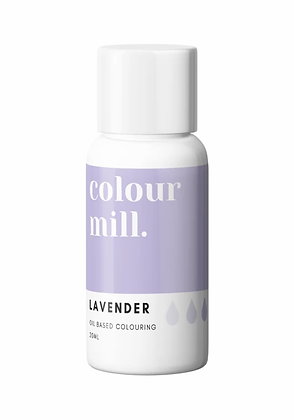lavender colour mill, colour mill, colour mill 20 ml, lavender food coloring, lavender colour mill oil based colouring