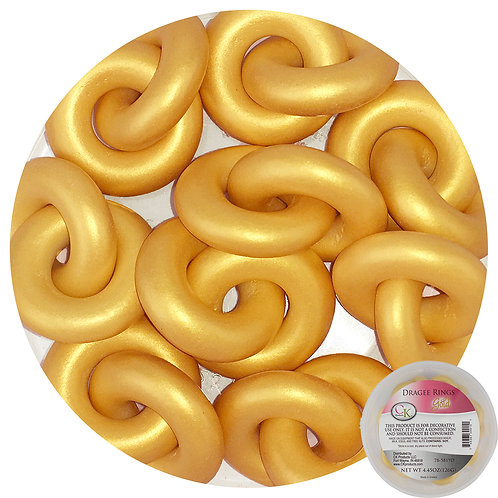 CK Products Gold Dragee Rings