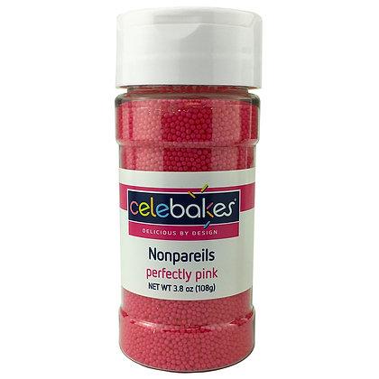 Celebakes Perfectly Pink Nonpareils