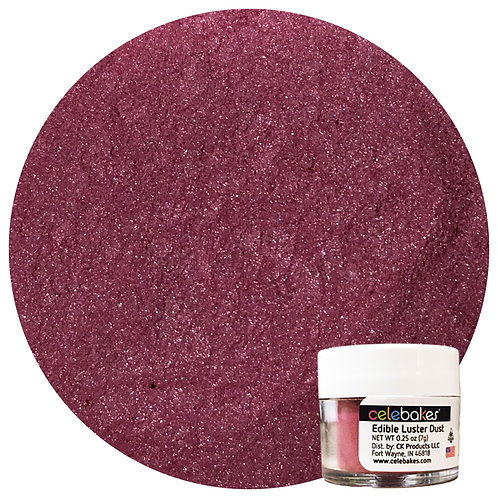 Celebakes Very Berry Edible Luster Dust, Pink Luster Dust, Edible Luster Dust, Pink Luster
