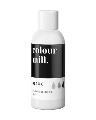 black colour mill, black colour mill oil based colouring, black colour mill 10ml, colour mill, colour mill 100ml