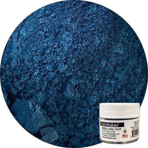 Celebakes Seafoam EDIBLE Luster Duste, Blue Luster Dust, Blue Luster, Blue edible Luster