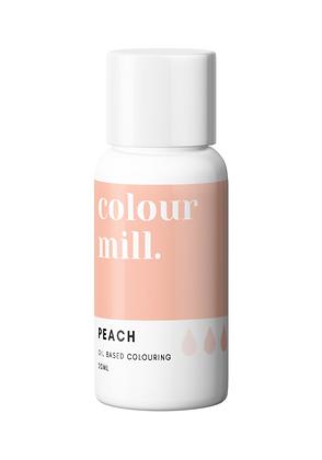 peach colour mill, peach colour mill oil based colouring, peach colour mill 20ml, peach oil based colouring 20ml