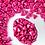 Sweetapolita BRIGHT PINK METALLIC TRIANGLE DRAGEES