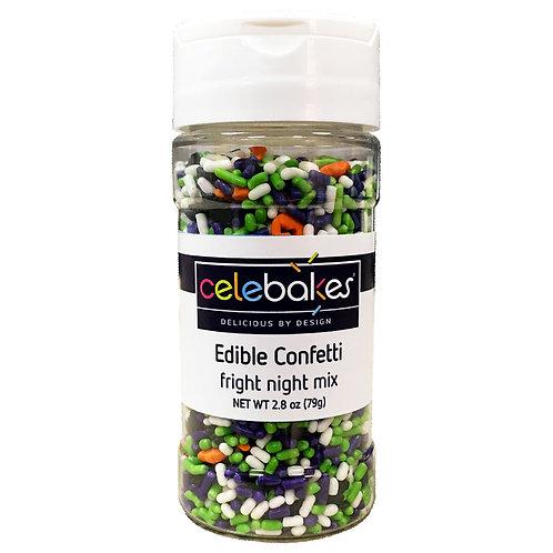 Edible Confetti Fright Night Halloween Sprinkles Halloween Sprinkle Mix