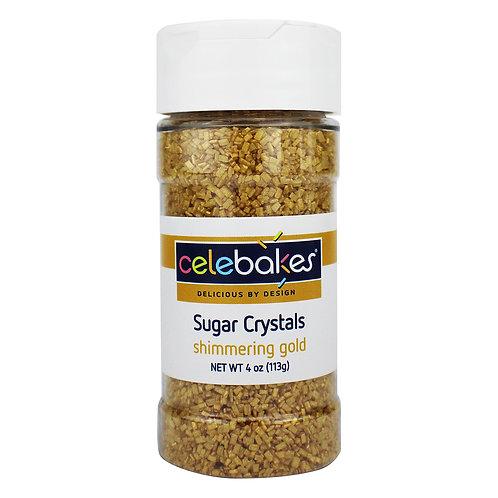 Celebakes Shimmering Gold Sugar Crystals
