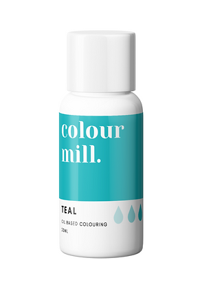 teal colour mill, teal colour mill oil based colouring, colour mill, teal oil colouring, colour mill 20ml, teal colour mill