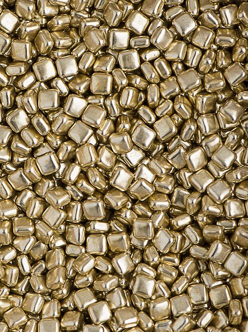 Sweetapolita METALLIC GOLD SQUARE DRAGEE