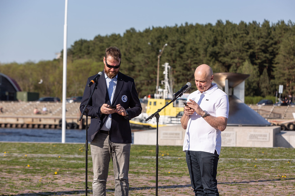The signing of the cooperation agreement, characteristically to digital Estonia, took place digitally - photo © Gerli Tooming / Alexela ORC Worlds 2021