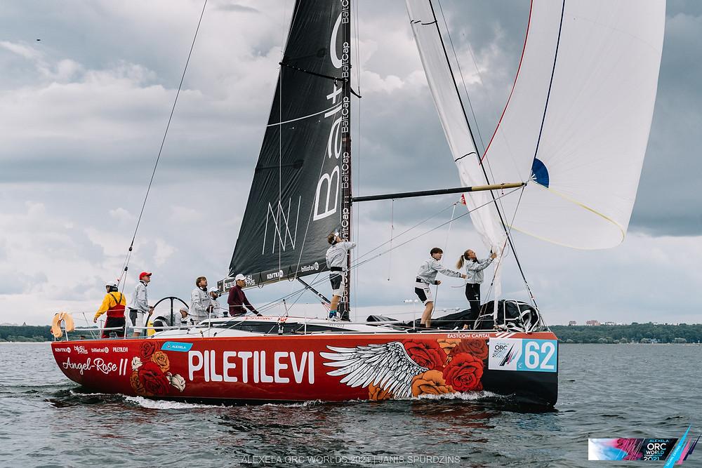 Angel-Rose II - Alexela ORC avamerepurjetamise maailmameistrivõistlused - Alter Marine lühirajasõidud 11.08.2021 ©Alexela ORC Worlds 2021