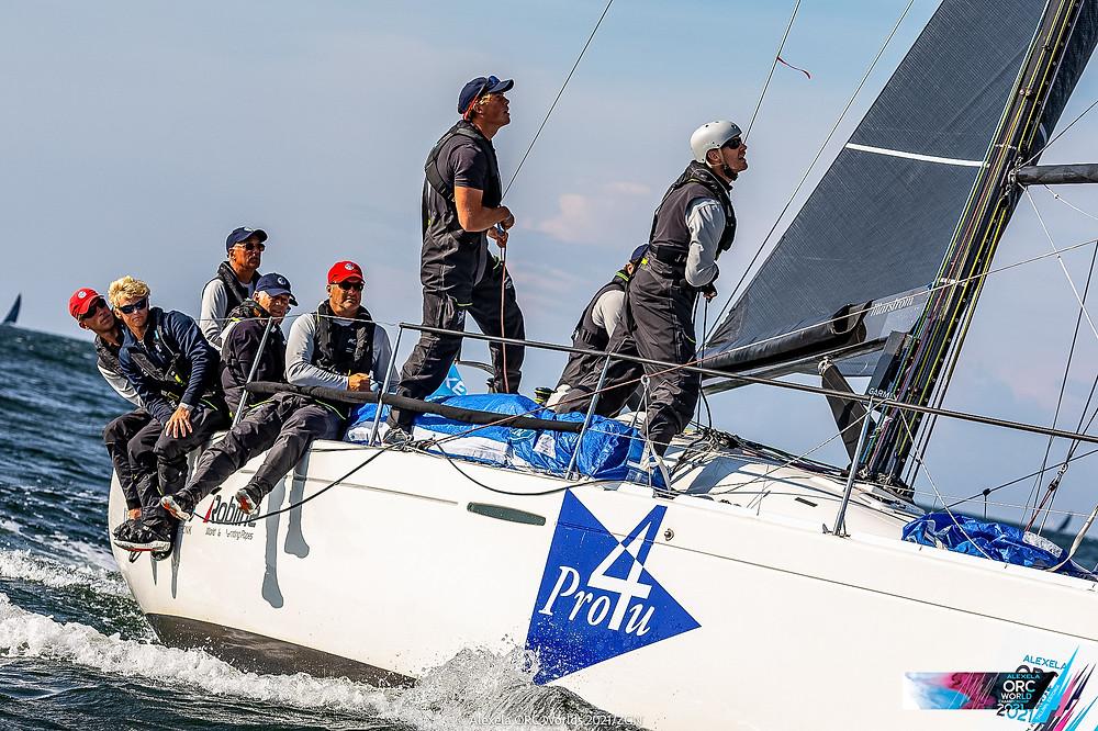 Team Pro4U First 36.7 of Patrik Forsberg   - Short Offshore Race Day powered by Pantaenius © Alexela ORC Worlds 2021   ZGN