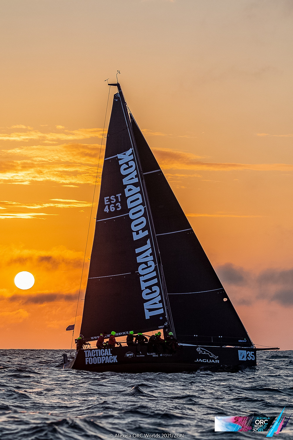 Olympic - Tactical Foodpack Sailing Team © Alexela ORC Worlds 2021   ZGN