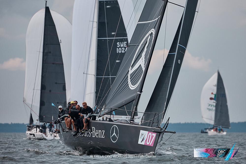 Jani Lehti GP 42 Mercedes-Benz EQ POW - Rotermanni lühirajasõidud 12.08.2021 - Alexela ORC World Championship 2021 ©Alexela ORC Worlds 2021 | Felix Diemer