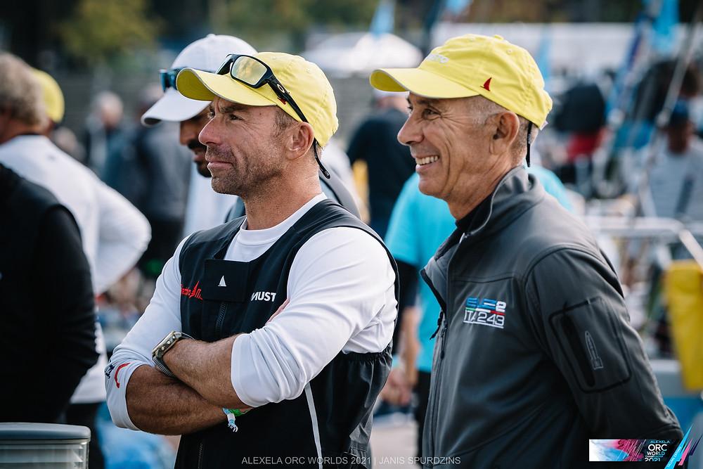 Sandro Montefusco (on the right) ©Alexela ORC Worlds 2021   Janis Spurdzins