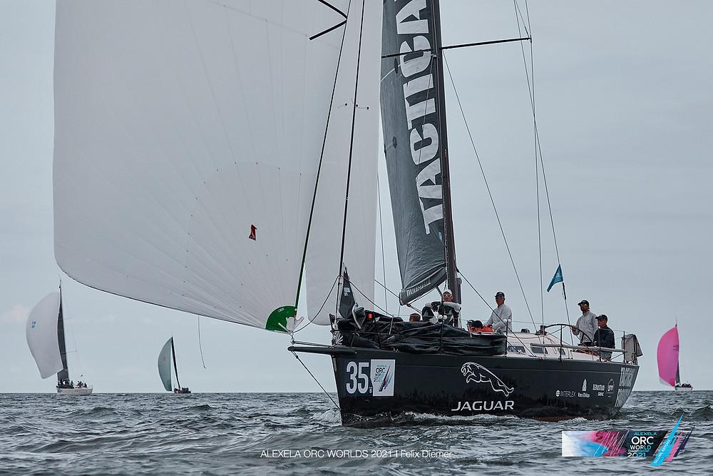 Olympic - Tactical Foodpack / Jaguar Sailing Team - Alexela ORC avamerepurjetamise maailmameistrivõistlused - Alter Marine lühirajasõidud 11.08.2021 © Alexela ORC Worlds 2021 / Felix Diemer