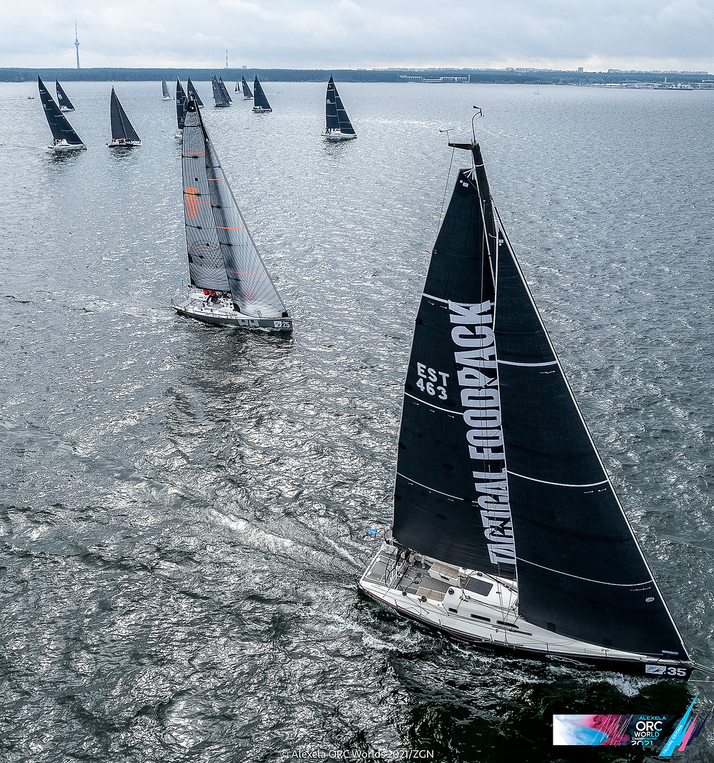 Long Offshore Race start powered by Tactical Foodpack  © Alexela ORC Worlds 2021 / ZGN