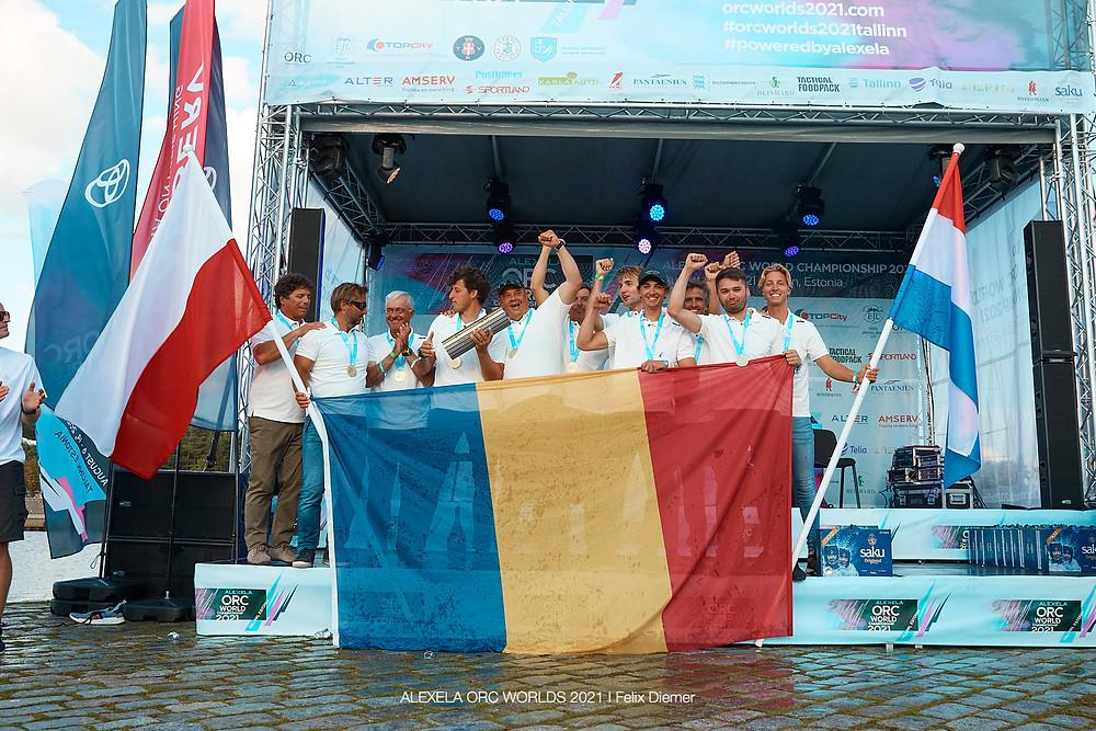 Catalin Trandafiri Grand Soleil 44 P ESSENTIA44 meeskond ©Alexela ORC Worlds 2021 | Felix Diemer