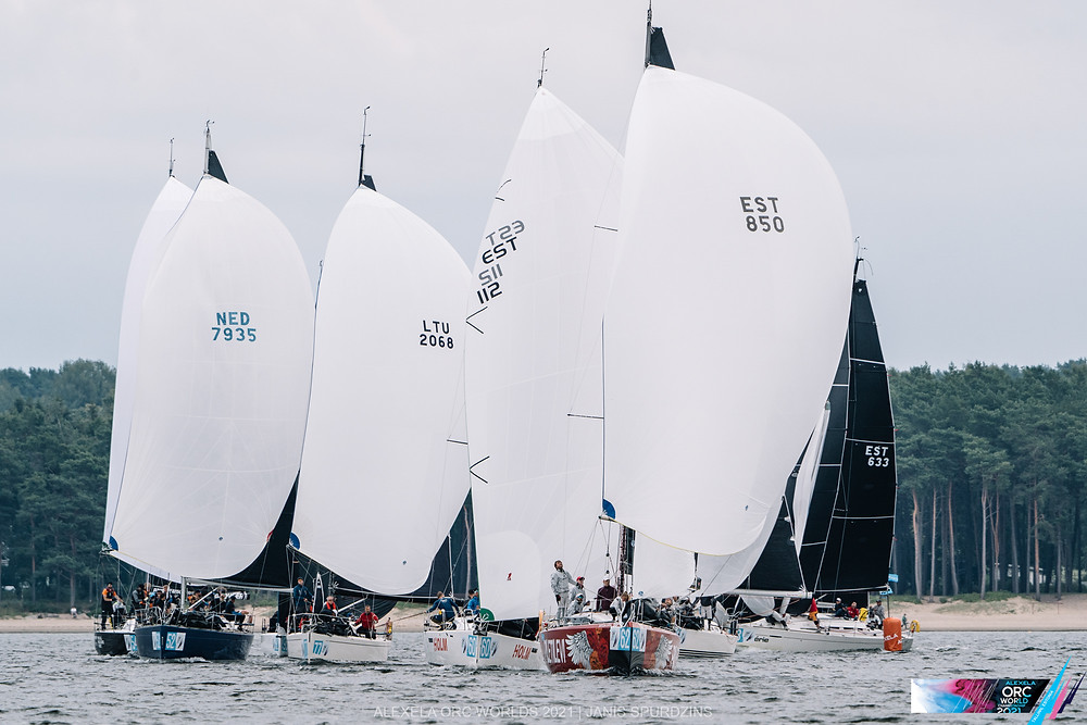Alexela ORC avamerepurjetamise maailmameistrivõistlused - Alter Marine lühirajasõidud 11.08.2021 © Alexela ORC Worlds 2021 / Felix Diemer