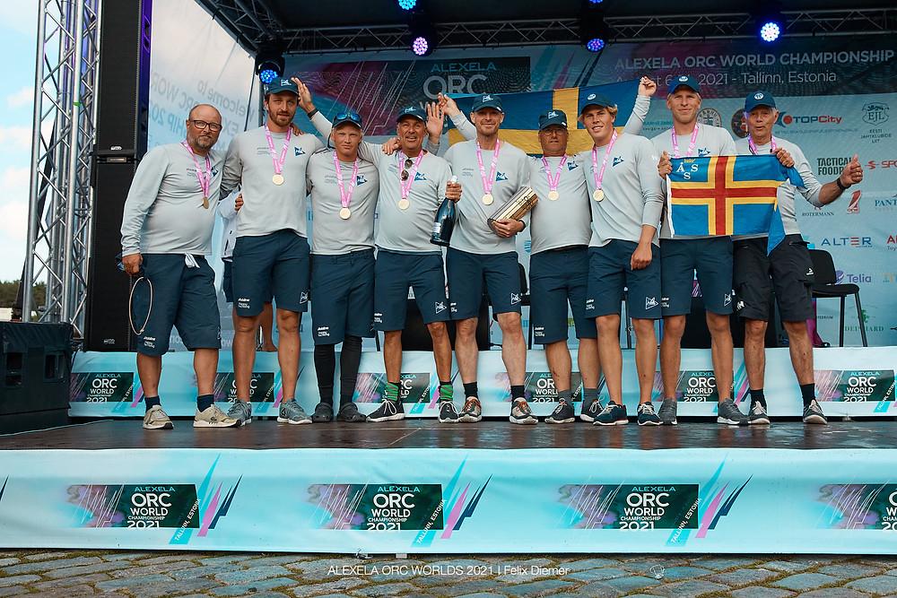 TEAM PRO4U First 36.7 mod Patrik Forsgreni juhtimisel - C klassi amatööride maailmamieister © Alexela ORC Worlds 2021 | Felix Diemer