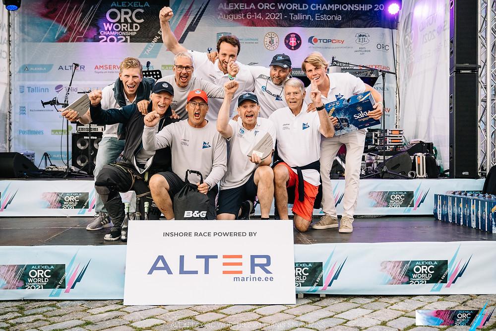 Team Pro4U - Alexela ORC avamerepurjetamise maailmameistrivõistlused - Alter Marine lühirajasõidud 11.08.2021 ©Alexela ORC Worlds 2021 | Janis Spurdzins