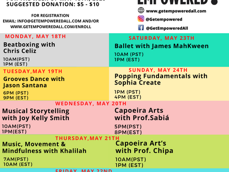 The Weekly Scoop for 5/18--5/22