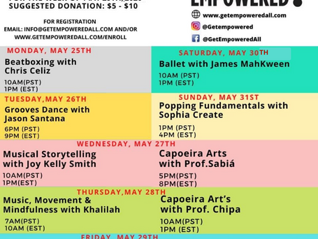 The Weekly Scoop for 5/26--5/29