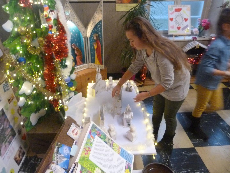 Montage du Village de Noël