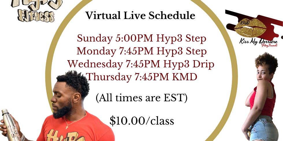 Hyp3 Step Live
