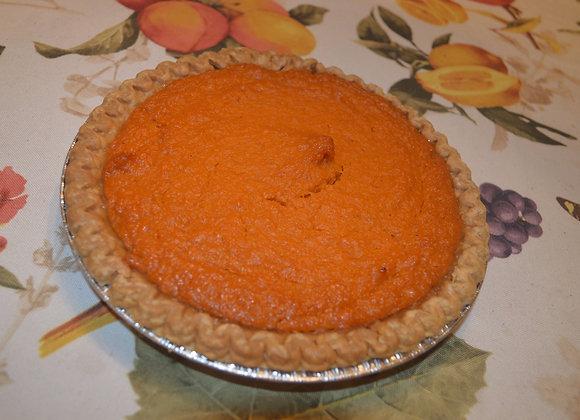 "8"" Vegan Sweet Potato Pie"