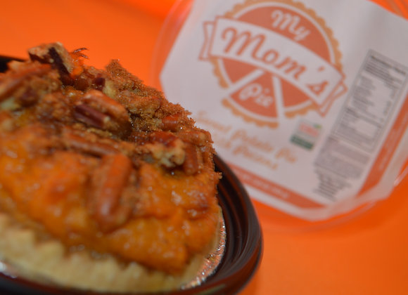 3' Mini Sweet Potato Pie with Pecans
