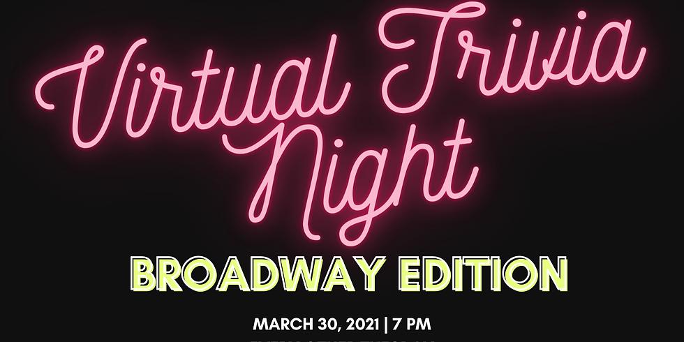 Virtual Trivia Night: Broadway