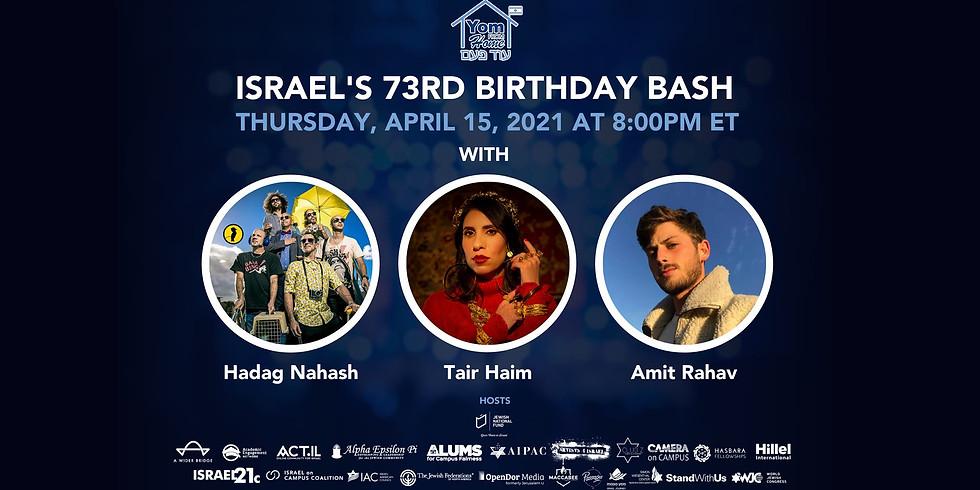 Israel's 73rd Birthday Bash