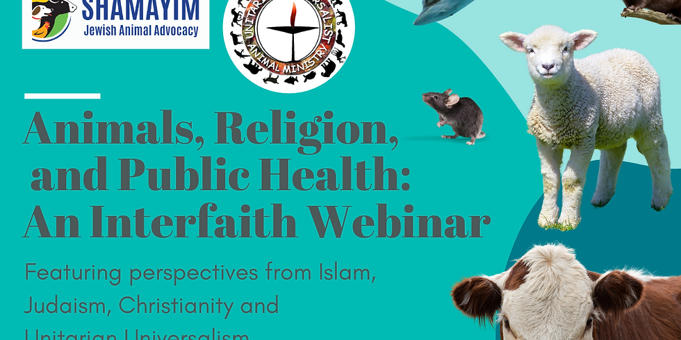 Animals, Religion, & Public Health: An Interfaith Webinar