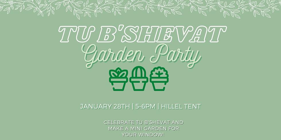 Tu'Bshevat Garden Party