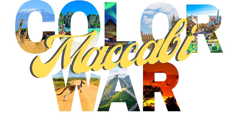 UCF Hillel Maccabi Color War