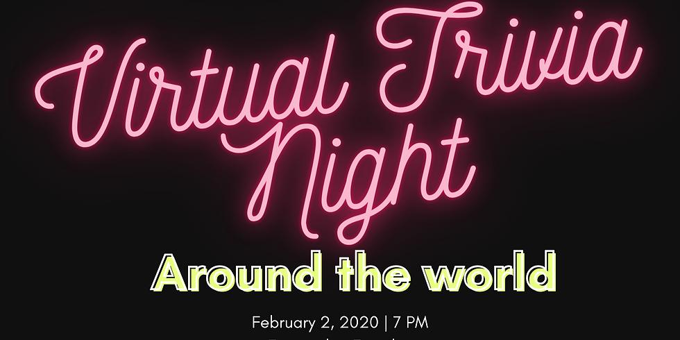 Virtual Trivia Night: Around the world
