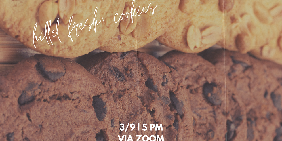 Hillel Fresh: Cookies