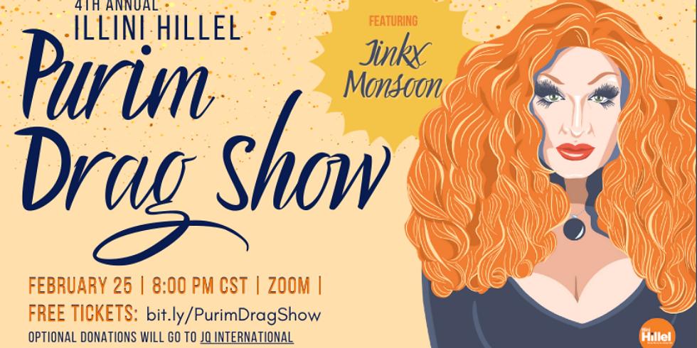 Hillel @ Home: Purim Drag Show