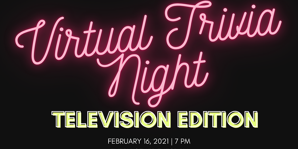 Virtual Trivia Night: Television