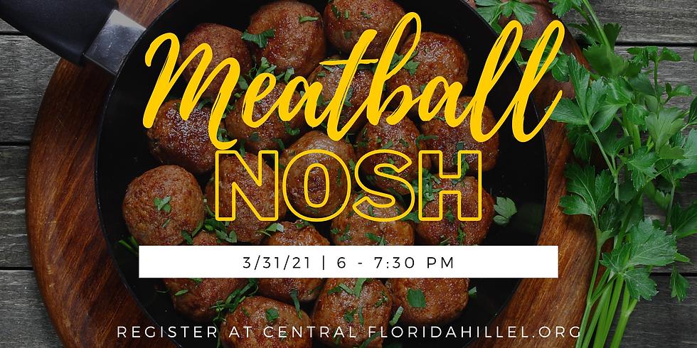 Meatball Nosh